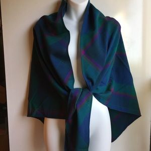 PENDLETON 100% VIRGIN WOOL SHAWL SCARF
